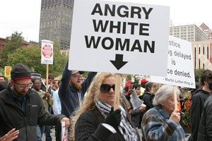 Angry White Woman